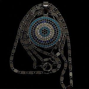 Jewelry - 🆕925 TurquoiseOnyx SapphireCitrine 7Layer 20mm